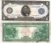 5 долларов 1914 США