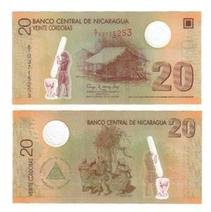 20 кордобас 2009, Никарагуа