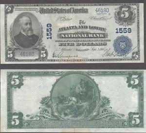 5 долларов 1902 USA