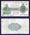 Банкнота 10 шиллингов, Великобритания