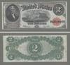 Legal tender 2 доллара 1917, США