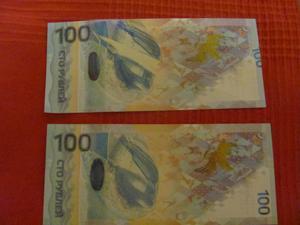 Памятная банкнота 100 рублей Сочи 2014